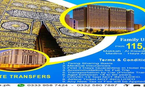 14 Days Family Umrah Package