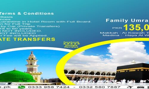 20 Days Family Umrah Package