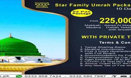 10Days Star Family Umrah Package2